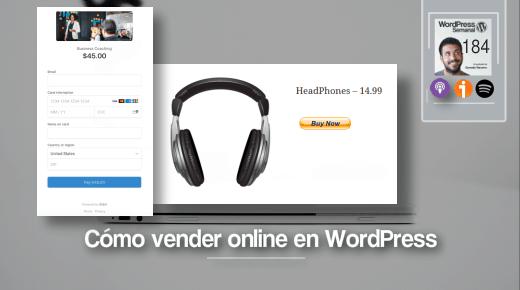 Vender online en WordPress