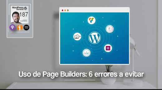 187 | Errores a evitar cuando usas un page builder