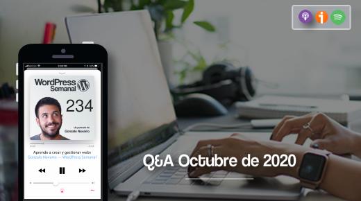 234 | Recopilación de respuestas sobre WooCommerce, themes y planificación