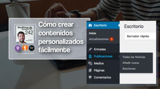 242 | La forma más fácil y rápida de crear custom post types y taxonomías