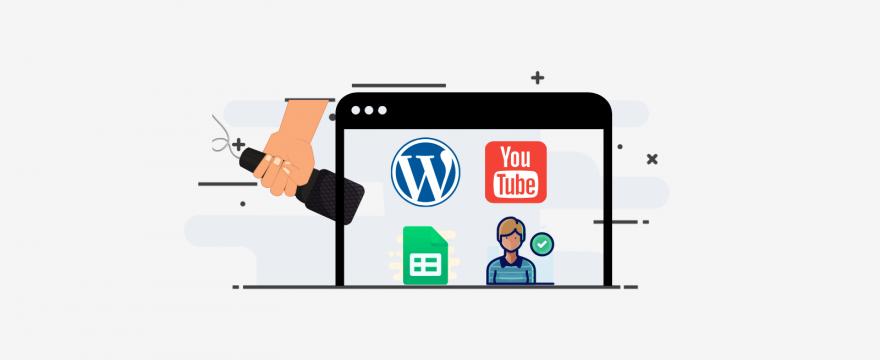 255 | Youtube en WP, cambiar url de login, mostrar tiempo de conexión, aprobar usuarios y conectar formulario con google sheets